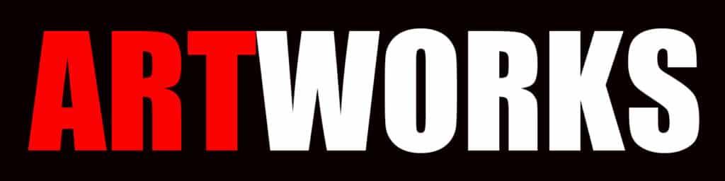 AW Logo on Back background